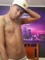 Latino on Webcam